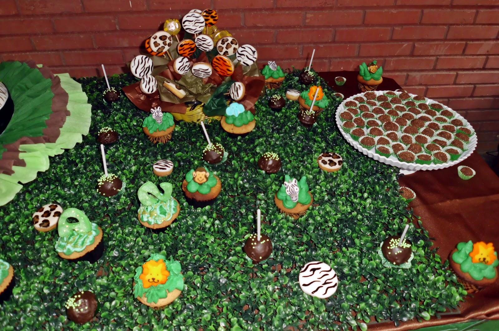 Tortas decoraciones baby shower safari para sebas tortas for Decoracion de tortas infantiles