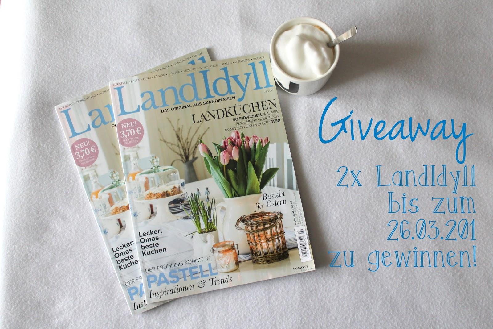 Giveaway LandIdyll Zeitschrift