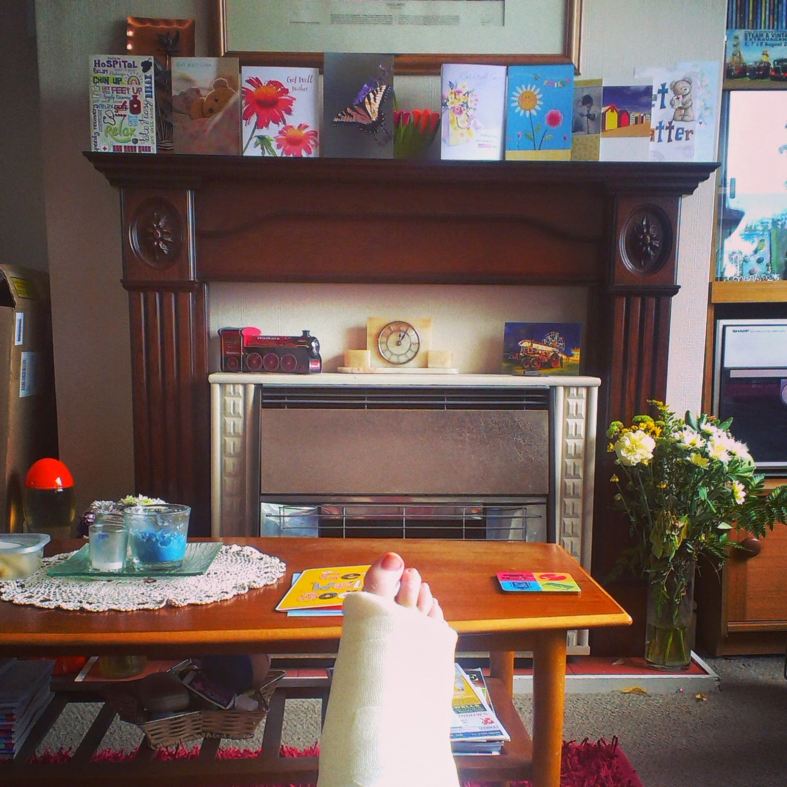 The view from the sofa