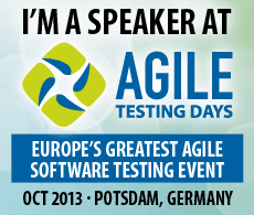 I spoke at Agile Testing Days
