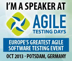 I spoke at Agile Testing Days
