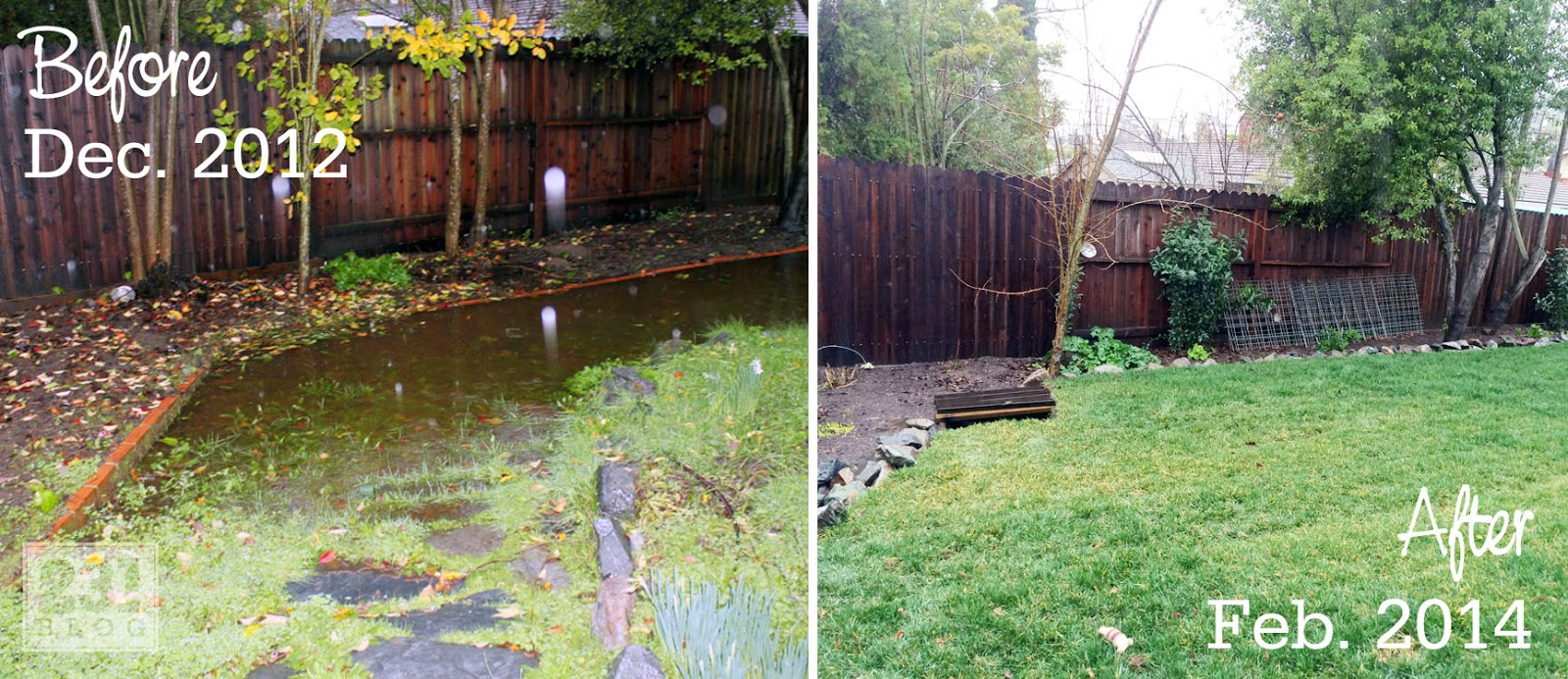 leveling out a backyard part 31 washed out back yare â