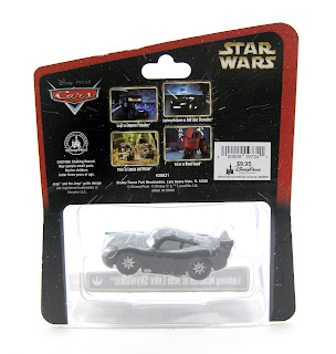 star wars weekend cars cardback