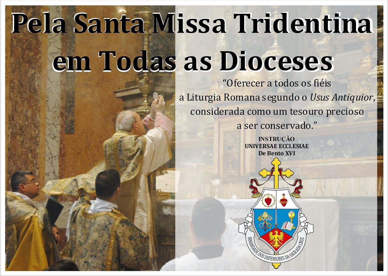 Santa Missa Tridentina no Brasil