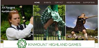 image Kinmount Highland Games 2015 banner