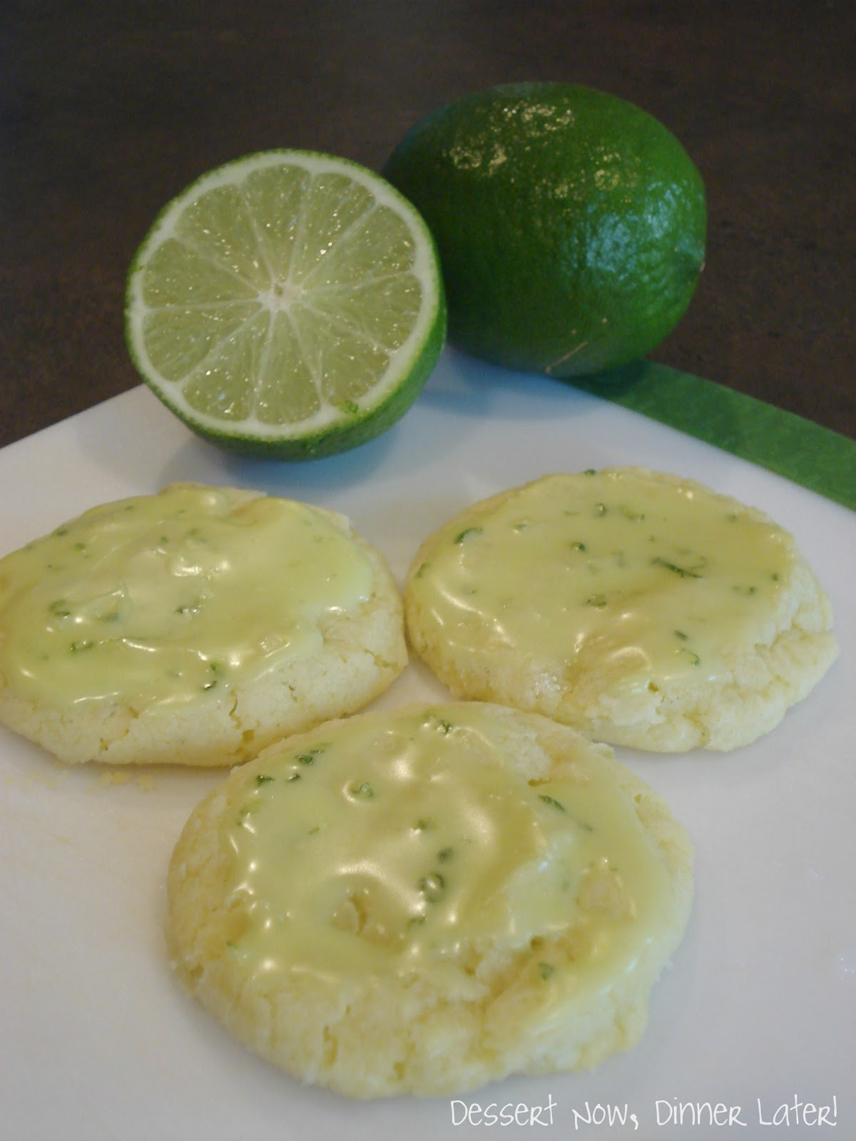 ... cookies lime glazed cookies recipe martha stewart lime glazed cookies