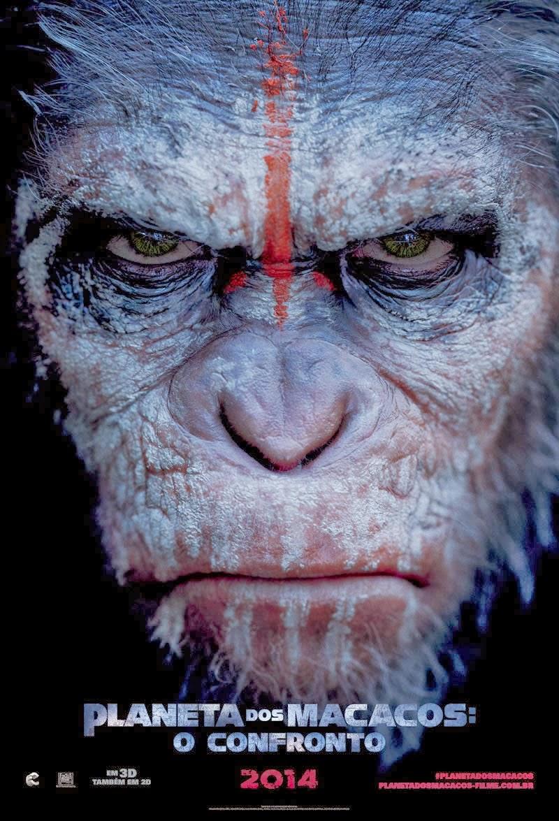 Planeta dos Macacos O Confronto RMVB + AVI Dublado