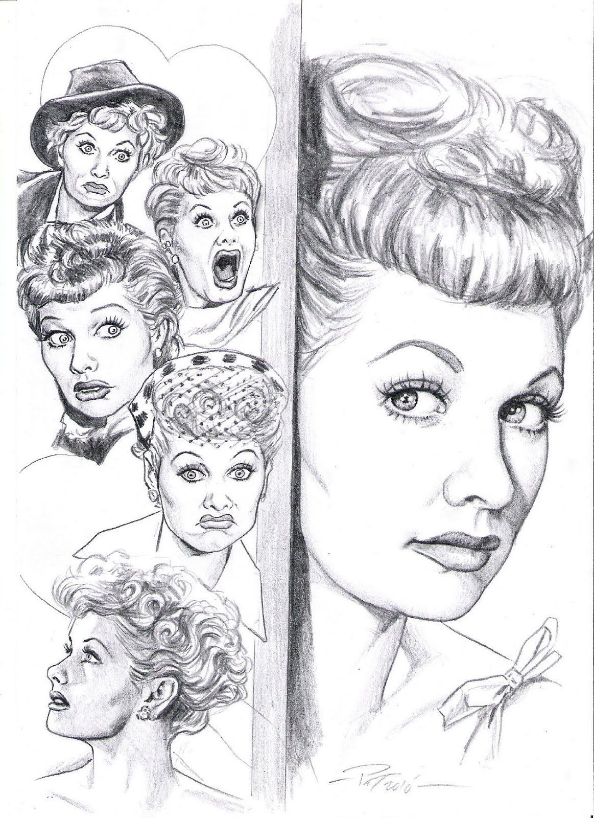 Lucille ball coloring pages coloring pages for I love lucy coloring pages
