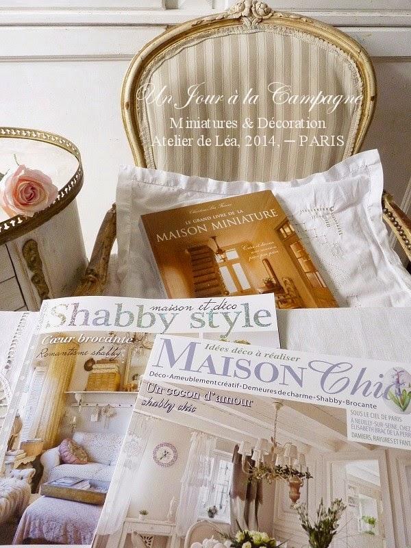 Le grand livre de la maison miniature dans shabby style et for Maison chic revue