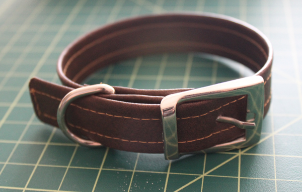 Diy Vinyl Dog Collar Craft Dog
