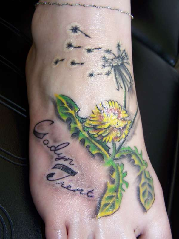 Dandelion Tattoos Meaning And Symbolism