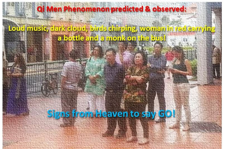 Qi Men Dun Jia Program from 17 to 19 Oct 2014 in Singapore. Click image for details!