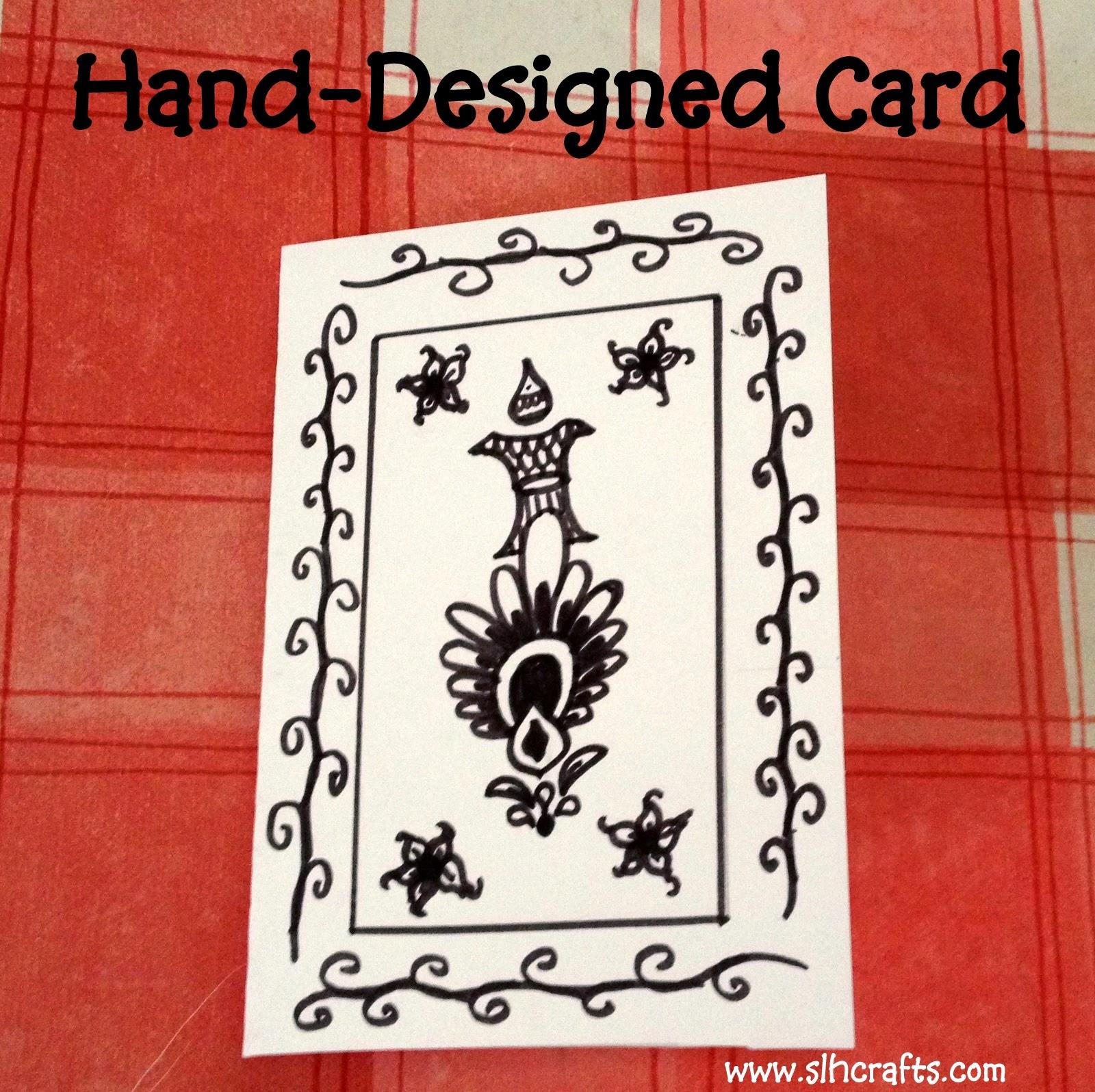 hand designed card