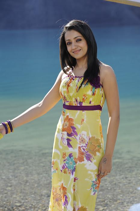 trisha in modern dress in guard actress pics