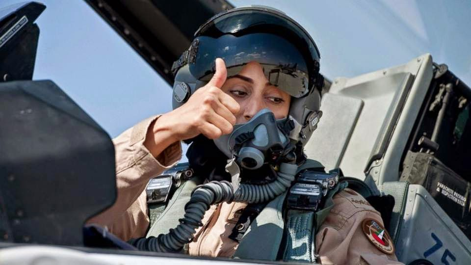 mariam al mansouri pilot:the Female Pilot Who Led Airstrike on ISIS