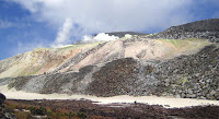 Sulfur Mines, Isabela Island, Galapagos