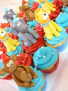 Circus Cupcakes Brisbane