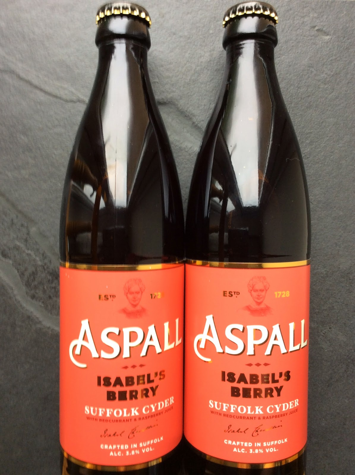 Isabel's Berry, Cyder, Aspall