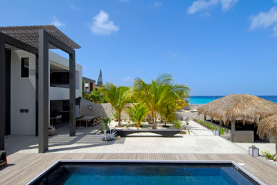 caribbean villas - modern architecture - pool