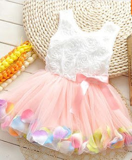 Vestidos para Niñas, Variedad de Diseños