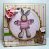 Sugar Nellie DT - A cute Little cotton rabbit!