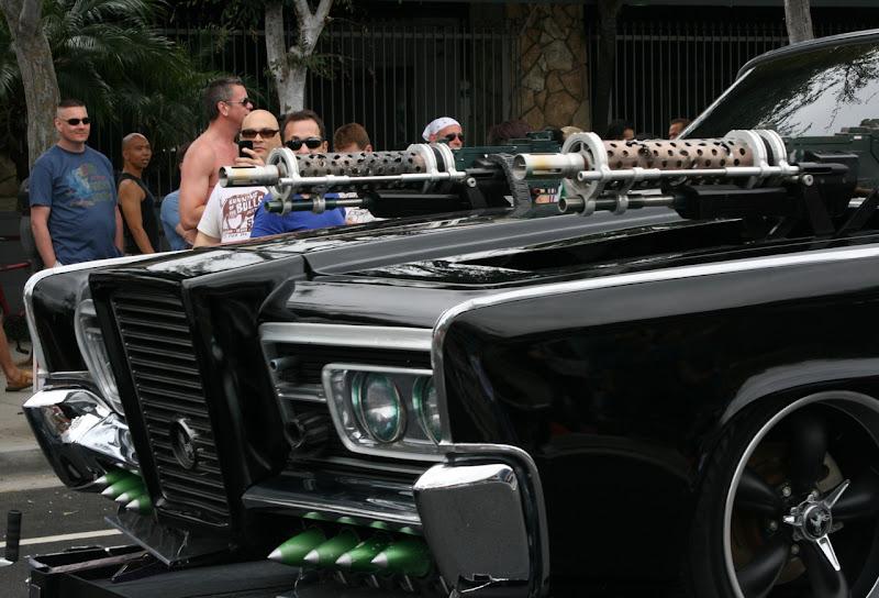 Green Hornet Black Beauty guns