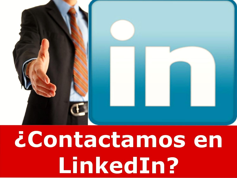 ¿Contactamos en LinkedIn?