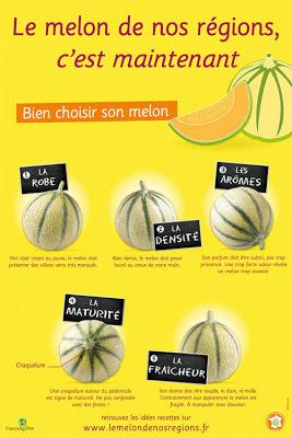 Comment bien choisir un bon melon ?
