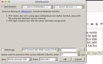 Membuat Instalan Ubuntu dengan USB Flashdisk