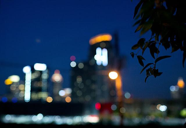 Atlanta skyline from Summerour studio