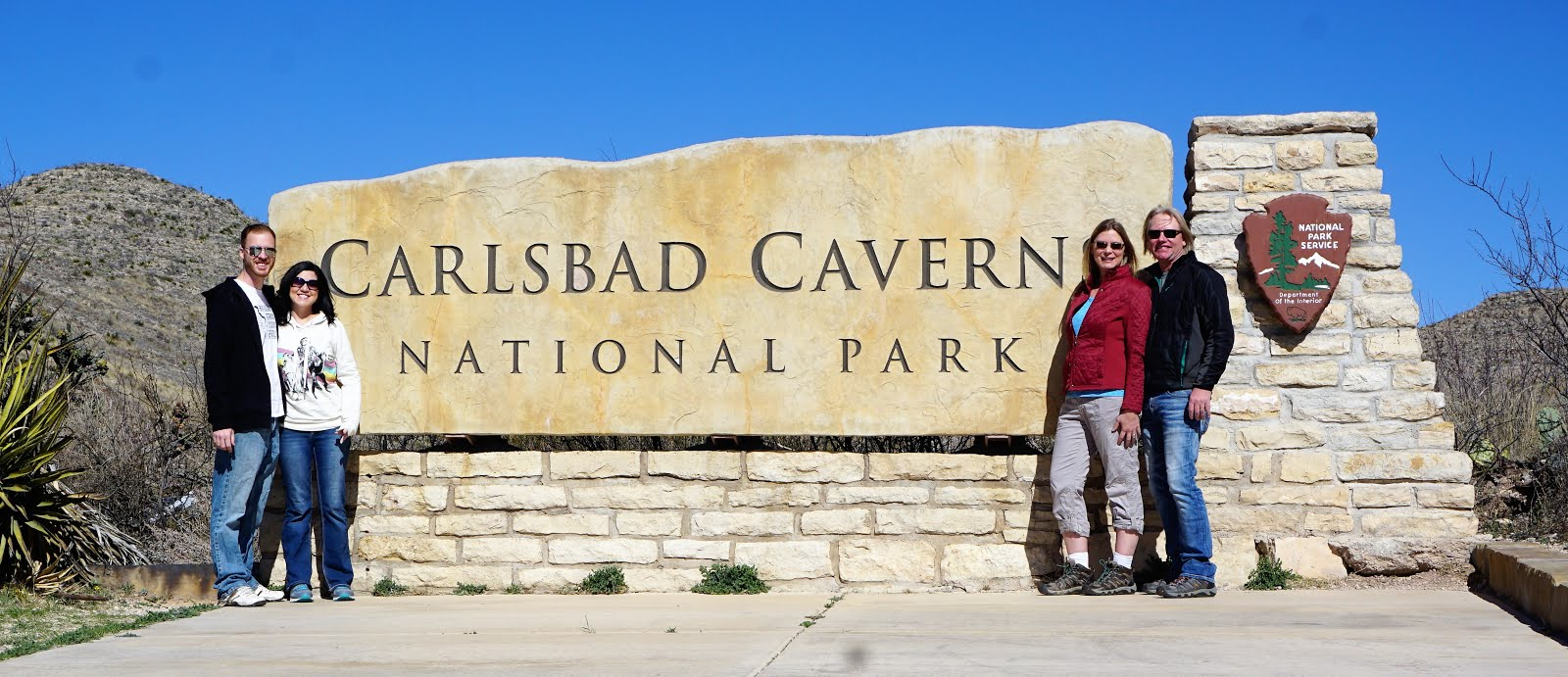 our trip to carlsbad caverns