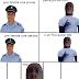 Mamadou Segpa Et L'agent De Police La Prune