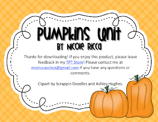 http://www.teacherspayteachers.com/Product/Pumpkin-Mini-Unit-FREEBIE-394303