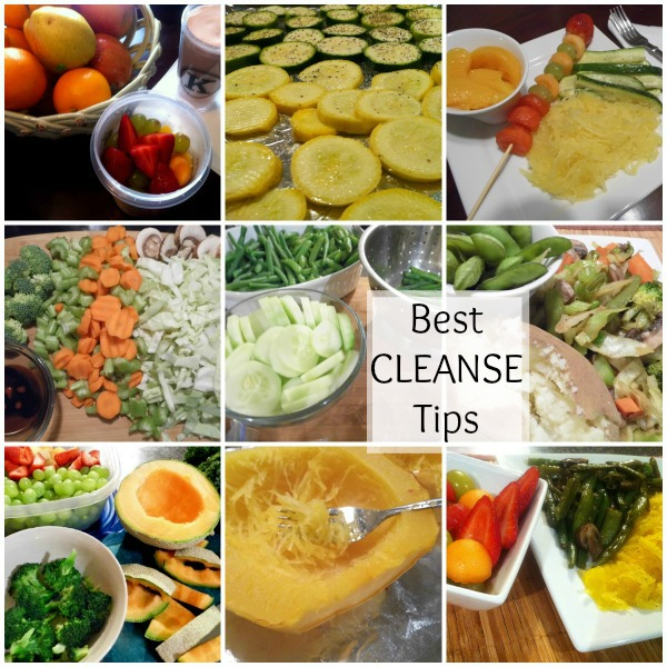 tips for cleansing, detox cleanse, weight loss cleanse,