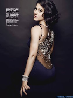 Kajol Devgn on Harper's Bazaar India June 2013 Magazine