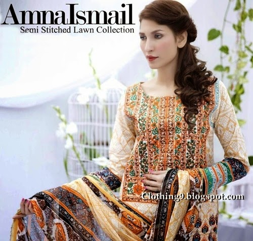 Amna Ismail spring summer collection 2015