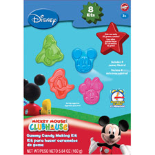 Mickey Club House Design Lollipop Choc