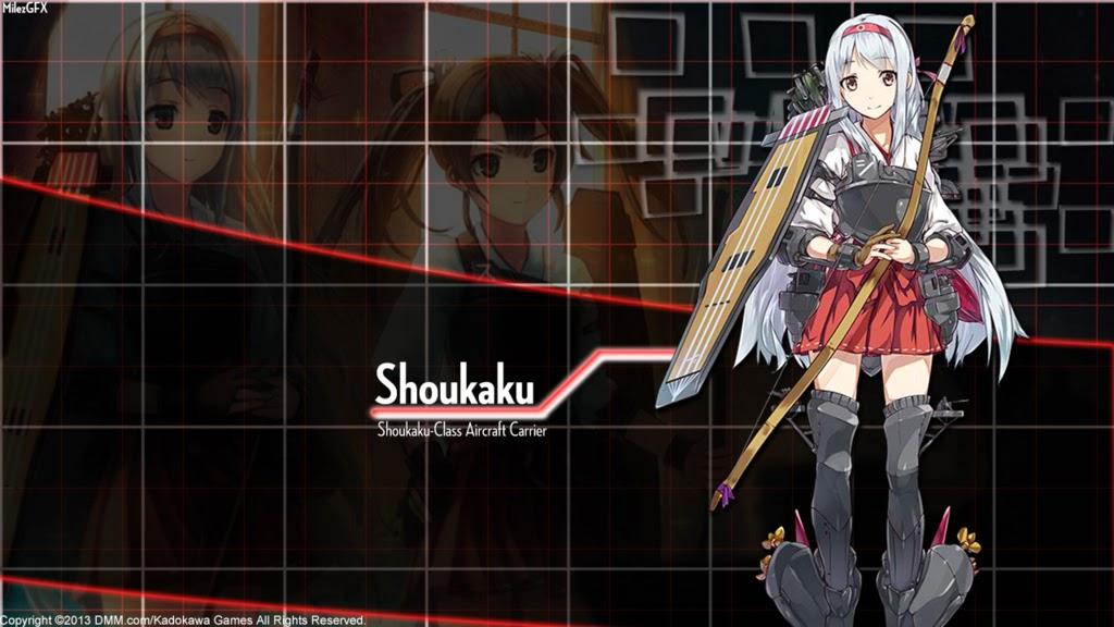Download Tema Windows 7 Shoukaku - Kantai Collection