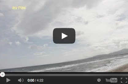 Δραματικός ουρανός πάνω από την θάλασσα της Αρτέμιδος