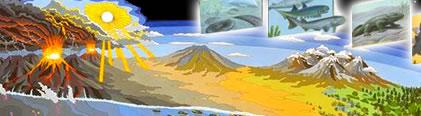 El Baúl de la Historia Universal: LAS ERAS GEOLÓGICAS