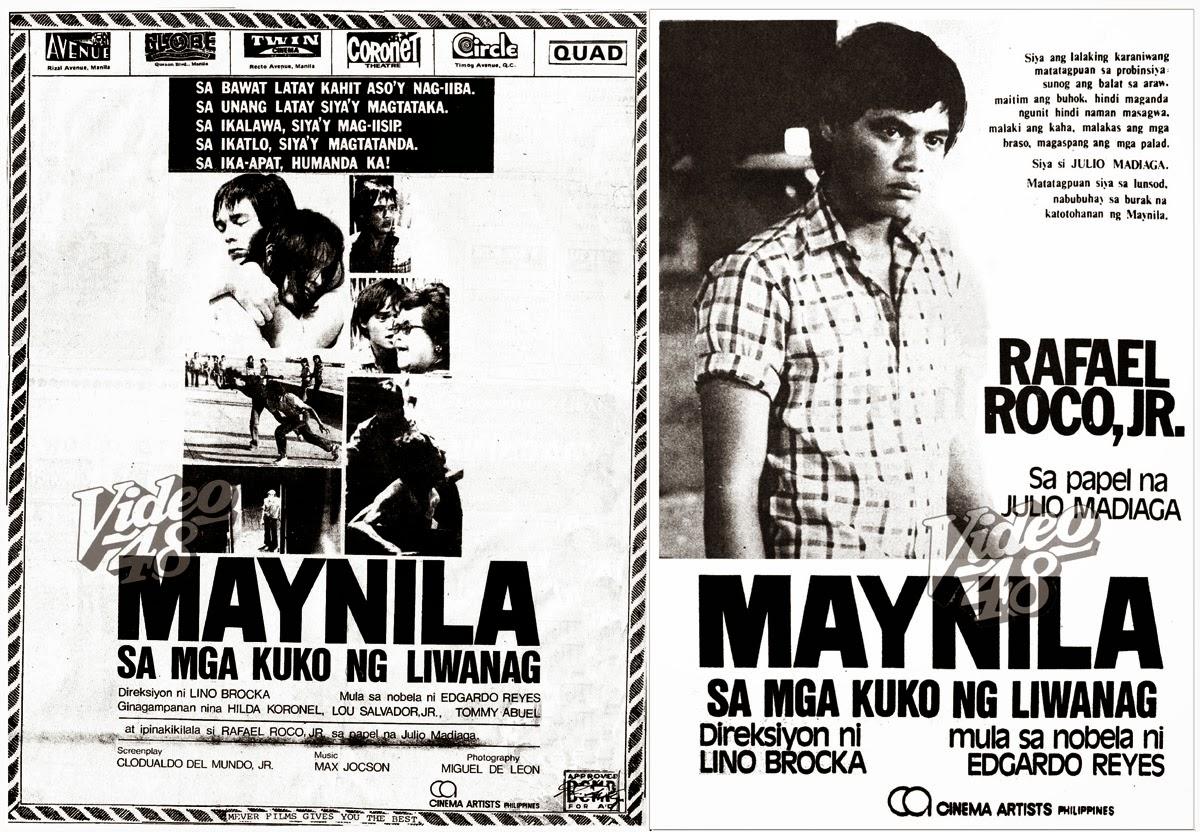 maynila sa mga kuko ng liwanag Maynila sa mga kuko ng liwanag: bembol roco 1975 full movie convert to 4k thanks to owner magbabago ba ang pagbaba ng timbang berdeng tsaa na may luya.