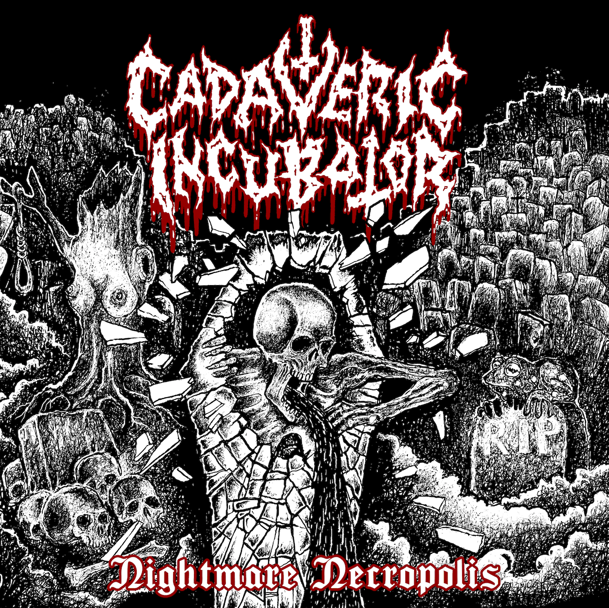 Cadaveric Incubator - Nightmare Necropolis - Press Release + Track Stream.