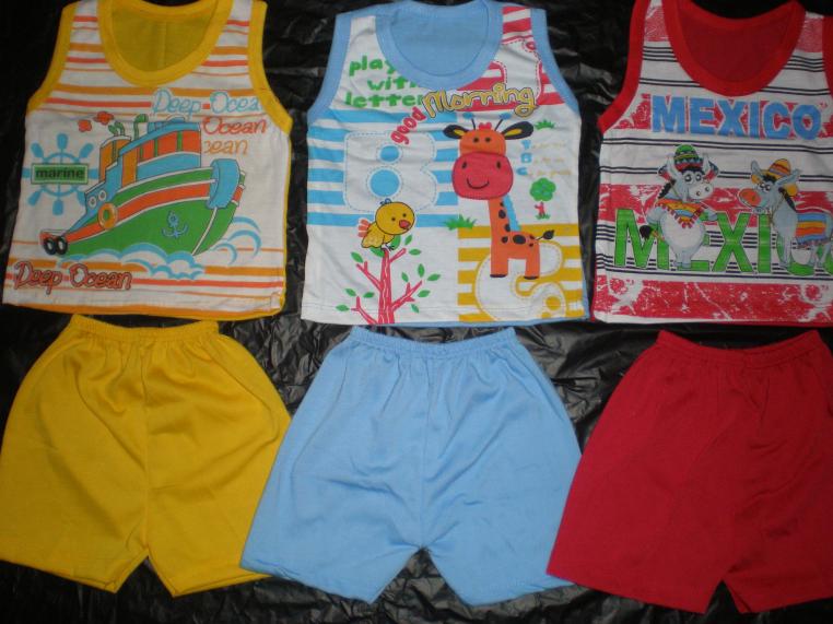 Stelan Baju Anak bayi dijual dengan harga yang sangat murah meriah