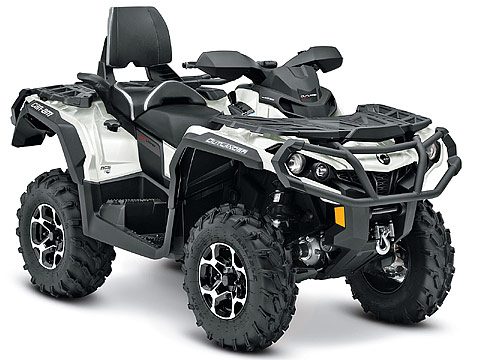 2013 Can-Am Outlander MAX LIMITED 1000 ATV pictures. 480x360 pixels