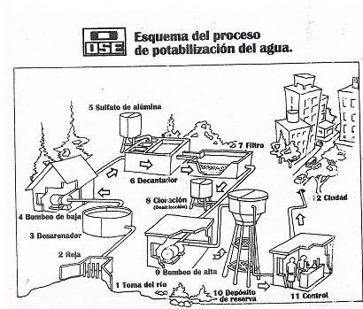 Dibujos para colorear sobre el agua potable - Imagui