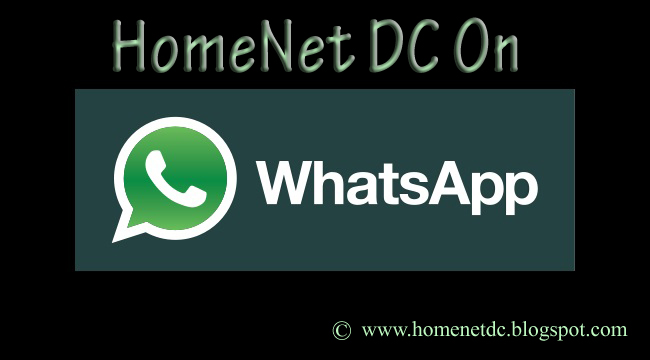 HomeNet DC on Whatsapp