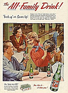 1950's 7 up