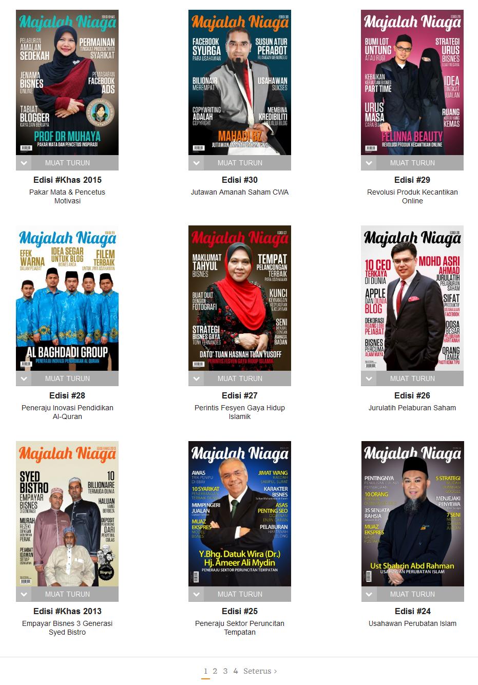 Download Majalah Niaga