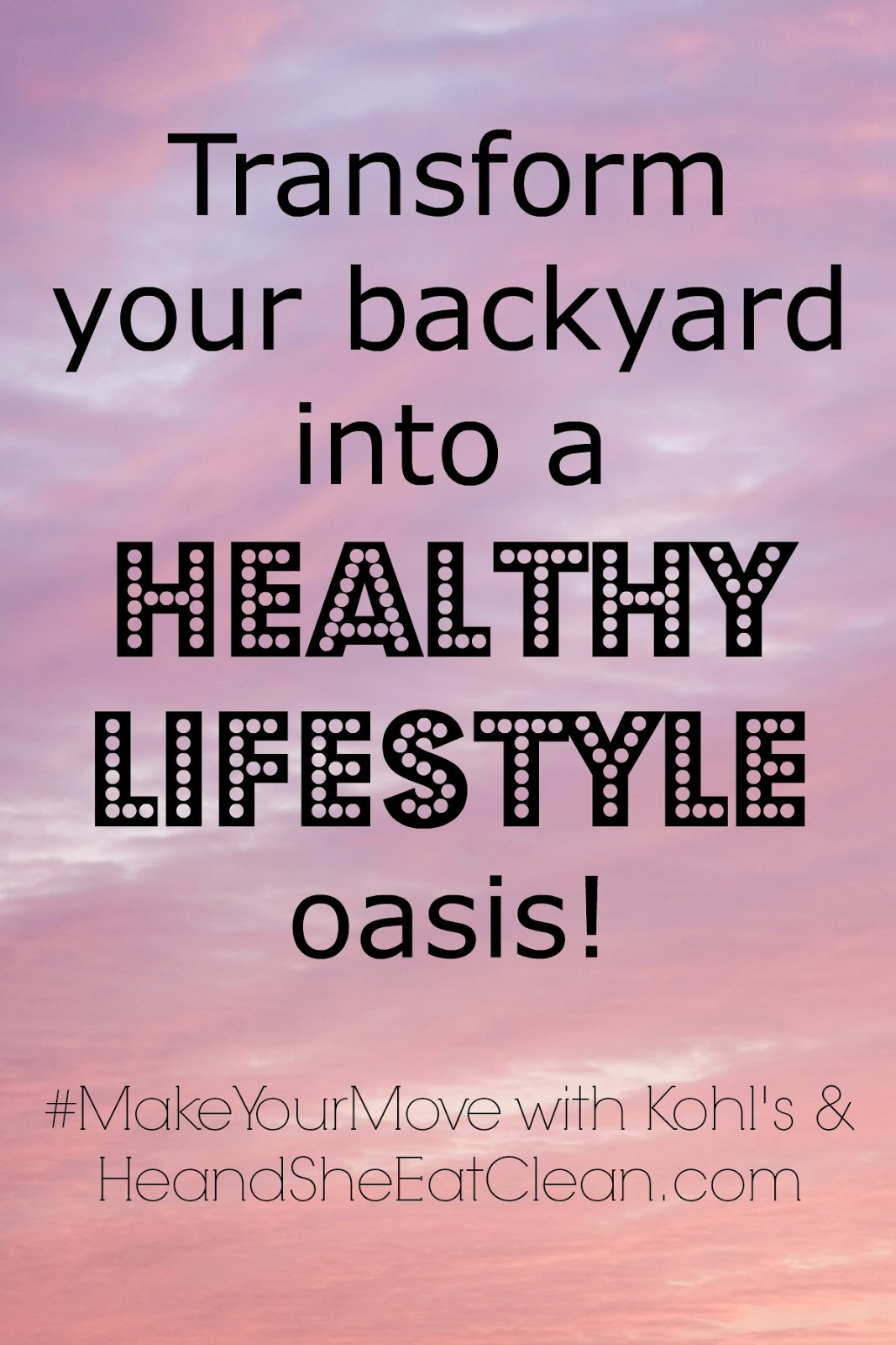 transform your backyard into a healthy lifestyle oasis food prep