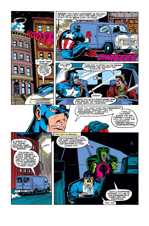 Captain America (1968) Issue #382 #315 - English 5